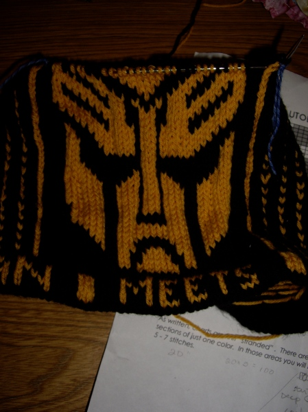 Transformers Hat - Progress